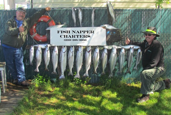 Michigan fishing charters