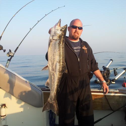 St Joseph Michigan salmon fishing